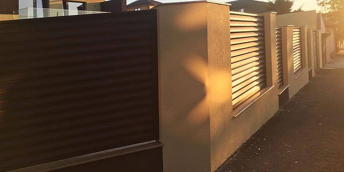 Gard metalic si porti metalice auto si pietonala - Constanta