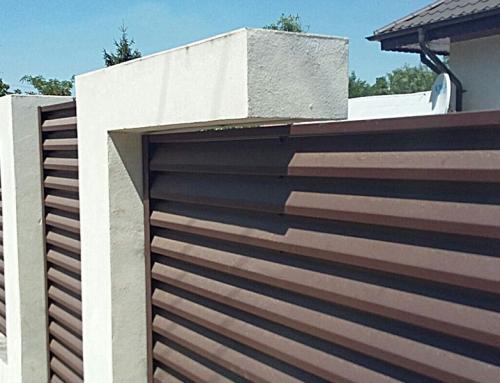 Garduri de beton moderne