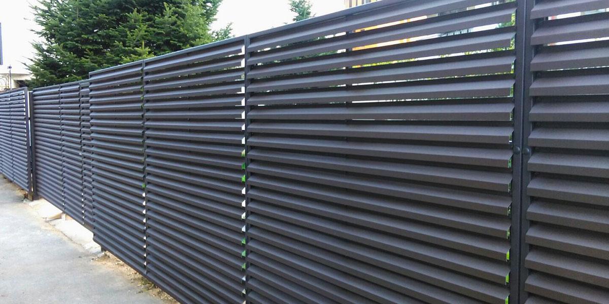 Gard metalic si porti metalice - str. Frunzelor