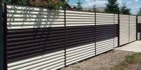Gard metalic si porti metalice - sat Ciolpani