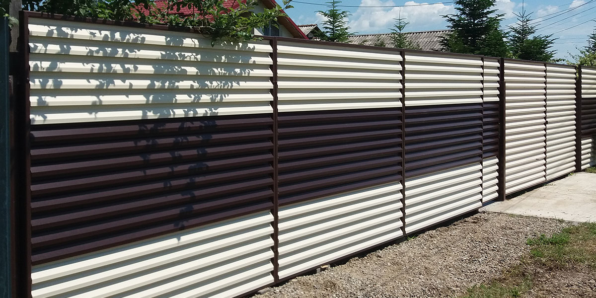 Garduri metalice si porti metalice - sat Ciolpani