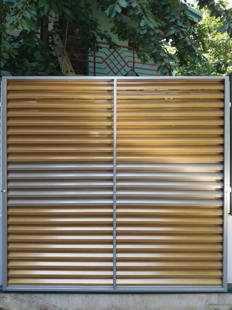 Garduri metalice preturi si modele