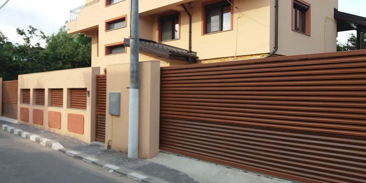 Porti culisante automate, gard si poarta pietonala – Bucuresti