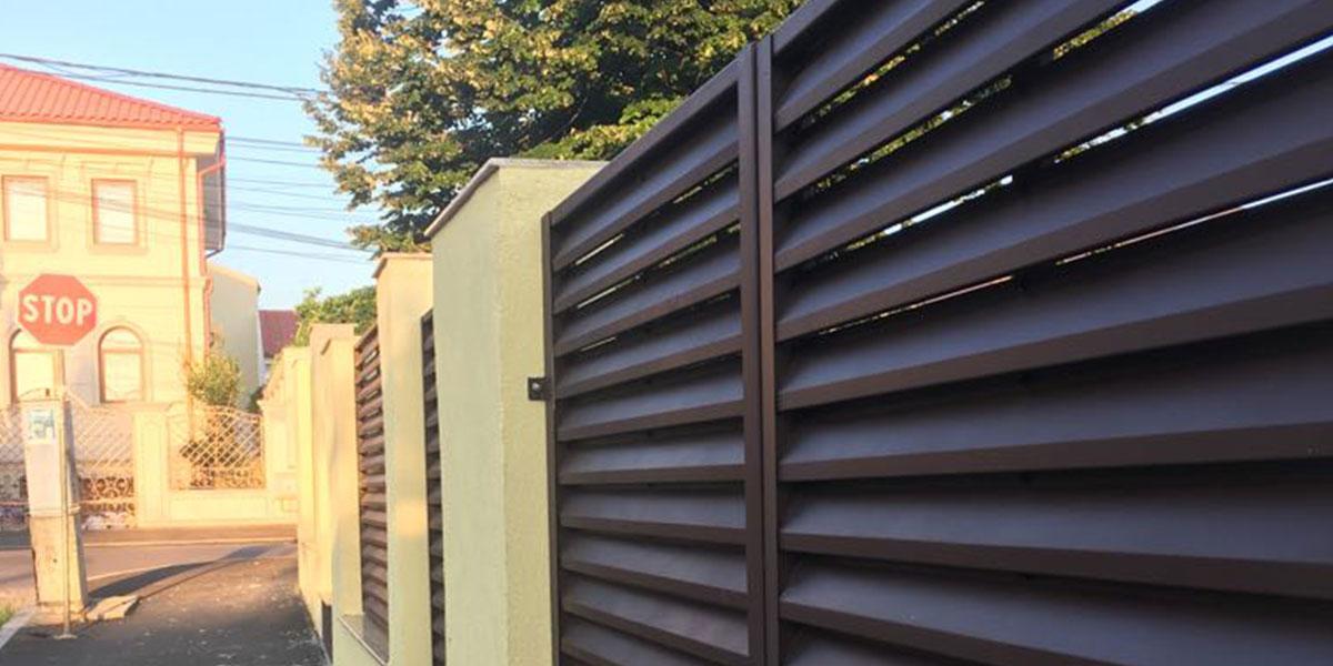 Gard metalic de calitate in Constanta