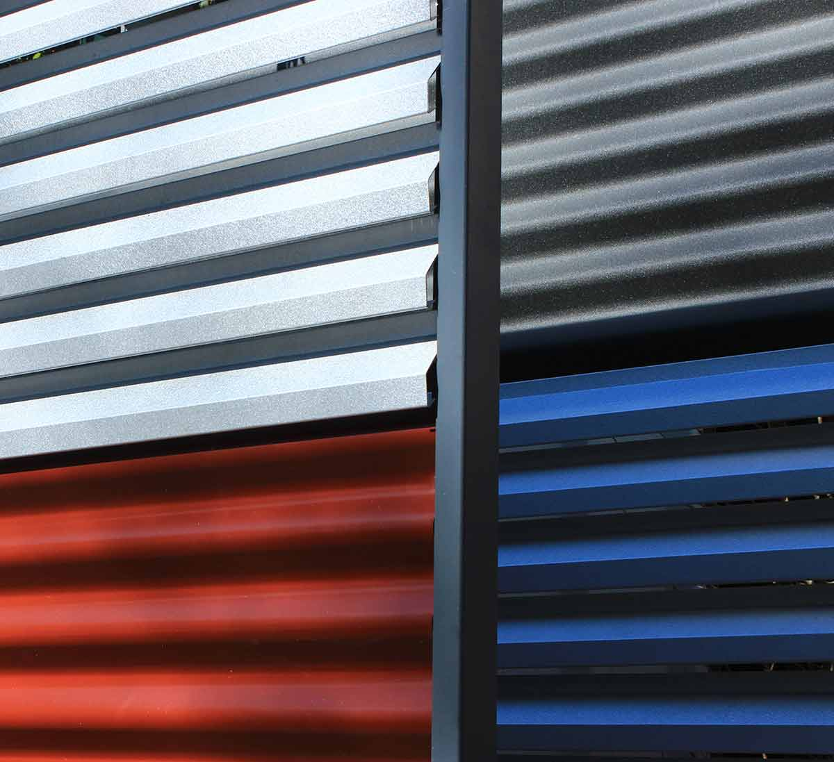 Garduri metalice modele