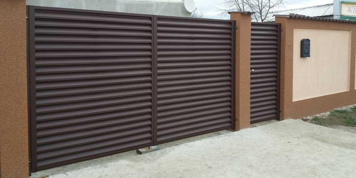 Porti metalice - garduri metalice