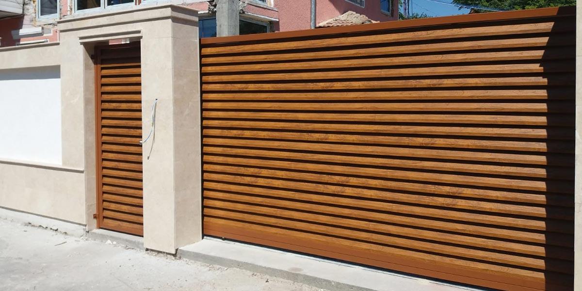 porti metalice moderne