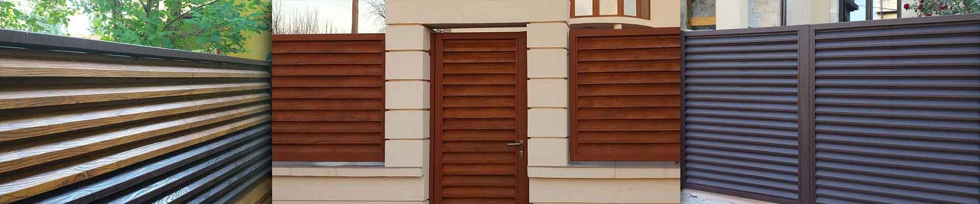 Garduri si porti metalice Pannelli